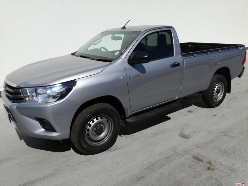 Used Toyota Hilux 2 4 Gd 6 Srx 4x4 Single Cab Bakkie For