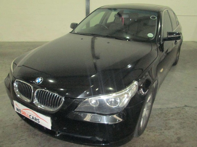used bmw 5 series 523i exclusive a t e60 for sale in western cape id 2425968. Black Bedroom Furniture Sets. Home Design Ideas