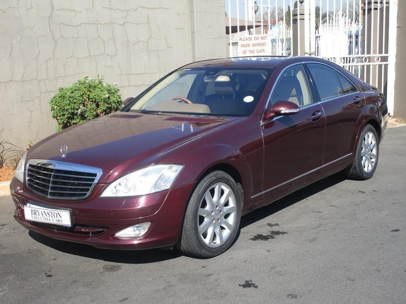 Used mercedes benz s class s 500 7sp for sale in gauteng for 2006 mercedes benz s500 for sale