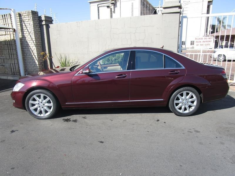 Used mercedes benz s class s 500 7sp for sale in gauteng for Mercedes benz s 500 for sale used