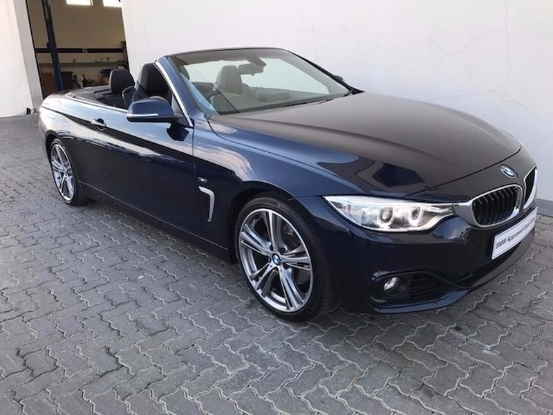 Used Bmw 4 Series 428i Convertible Sport Line Auto For