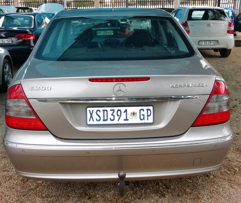 Used mercedes benz e class e 200k for sale in gauteng for 2008 mercedes benz e class for sale