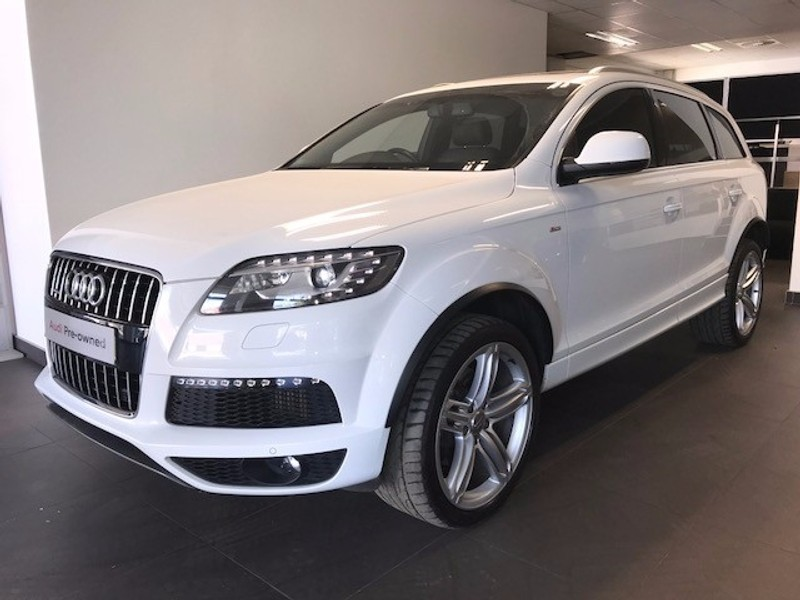 used audi q7 tdi v6 quattro with extended plan for sale. Black Bedroom Furniture Sets. Home Design Ideas