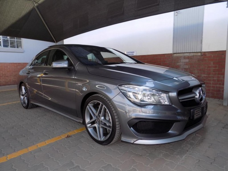 used mercedes benz cla class cla45 amg for sale in gauteng id 2448832. Black Bedroom Furniture Sets. Home Design Ideas