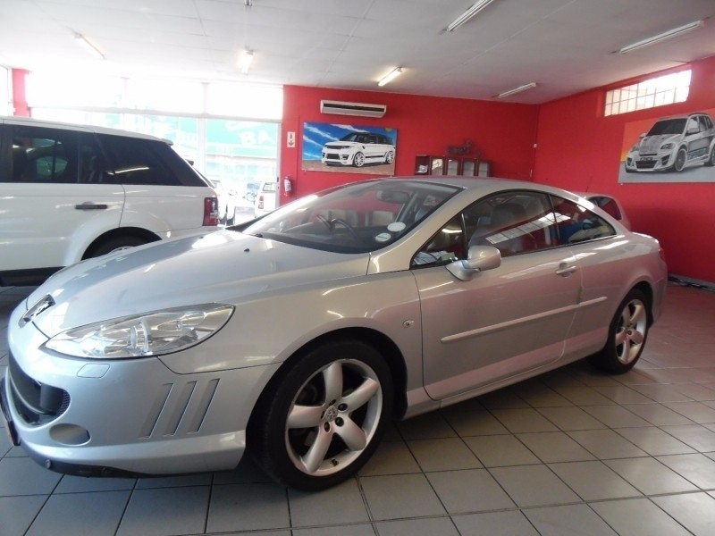 used peugeot 407 2007 peugeot 407 2 7 hdi coupe autosold for sale in western cape. Black Bedroom Furniture Sets. Home Design Ideas