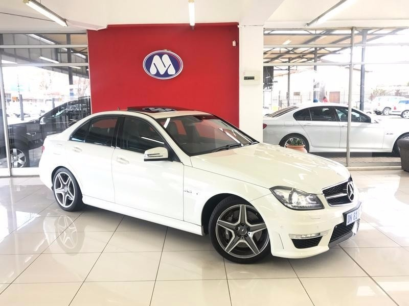 used mercedes benz c class c63 amg for sale in gauteng id 2448958. Black Bedroom Furniture Sets. Home Design Ideas