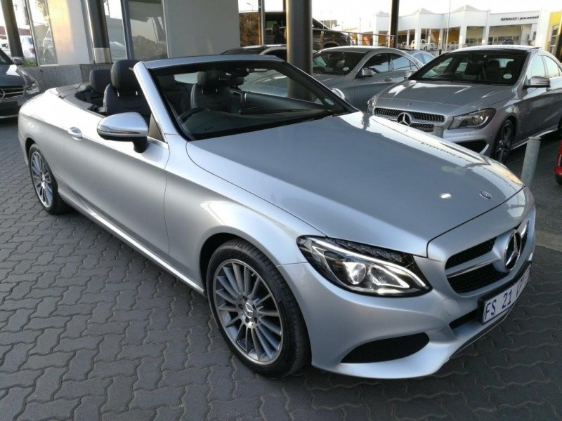 Used mercedes benz c class c200 cabriolet auto for sale in for Mercedes benz service a coupons 2017