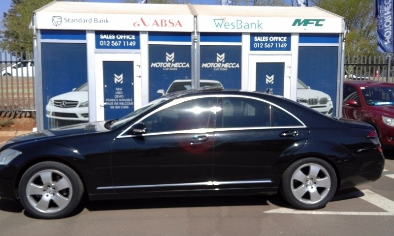 Used mercedes benz s class s 350 for sale in gauteng for 2007 mercedes benz s class for sale