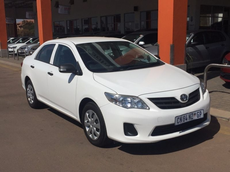 used toyota corolla 1 3 impact with low mileage for sale in gauteng id 2456382. Black Bedroom Furniture Sets. Home Design Ideas