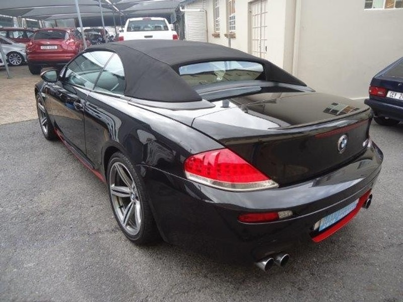 used bmw m6 convertible e64 for sale in western cape id 2457700. Black Bedroom Furniture Sets. Home Design Ideas