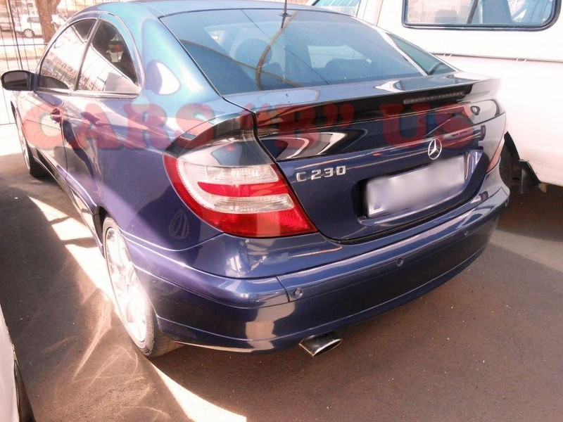 used mercedes benz c class c230 v6 coupe for sale in gauteng id 2460190. Black Bedroom Furniture Sets. Home Design Ideas