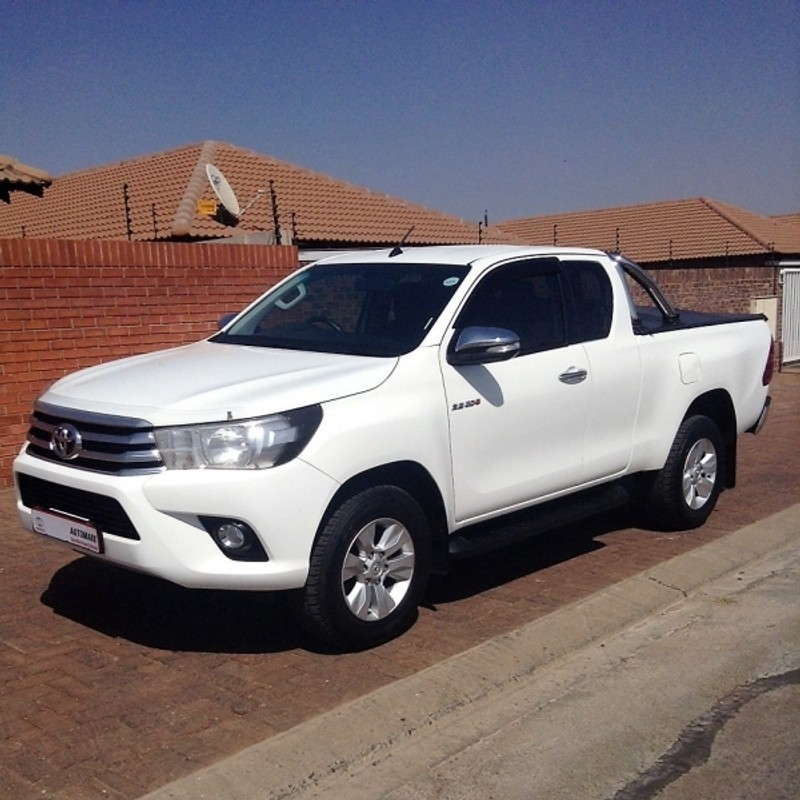 Toyota Care Extended Warranty: Used Toyota Hilux 2.8 GD-6 RB Raider Extended Cab Bakkie