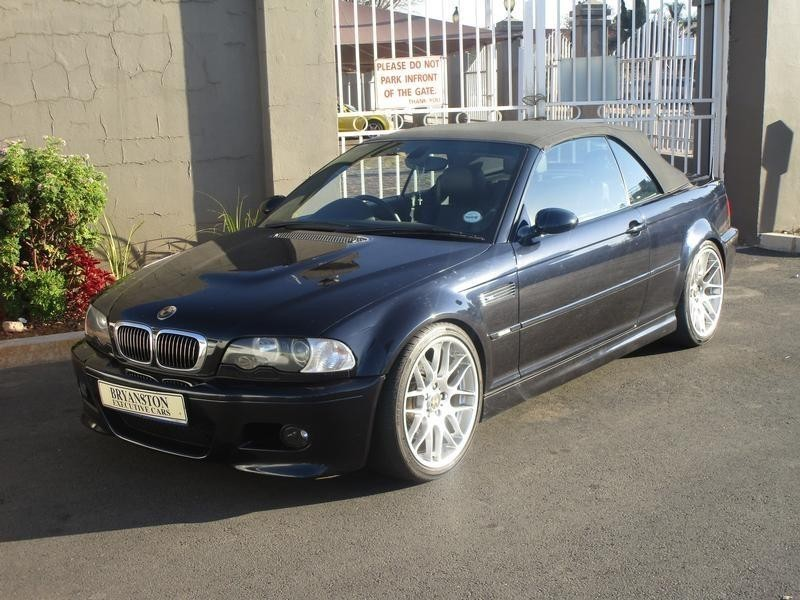 Used bmw m3 convertible e46 for sale in gauteng cars - Used bmw m3 coupe for sale ...