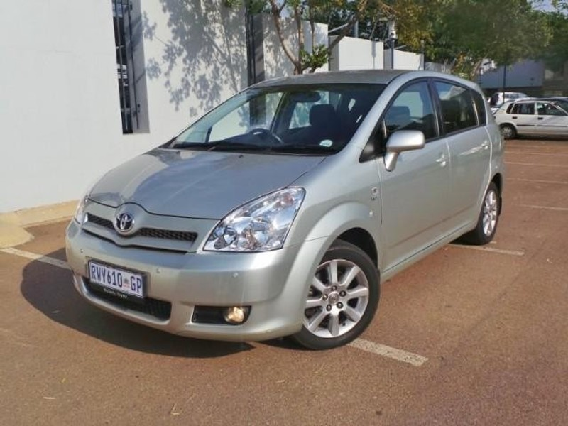 used toyota verso 180 sx a t for sale in gauteng. Black Bedroom Furniture Sets. Home Design Ideas
