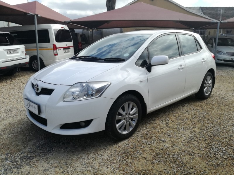 used toyota auris 140 rs for sale in western cape id 2494352. Black Bedroom Furniture Sets. Home Design Ideas