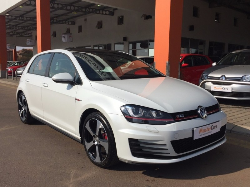 used volkswagen golf vii gti dsg pearl white for sale in gauteng id 2499298. Black Bedroom Furniture Sets. Home Design Ideas