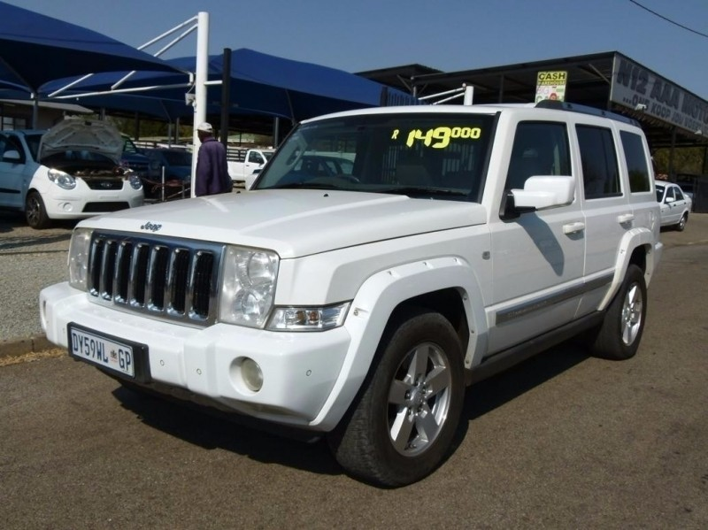 used jeep commander 3 0 limited for sale in north west province id 2513916. Black Bedroom Furniture Sets. Home Design Ideas