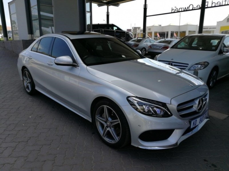 Used mercedes benz c class c180 amg line auto for sale in for Mercedes benz c class used cars for sale