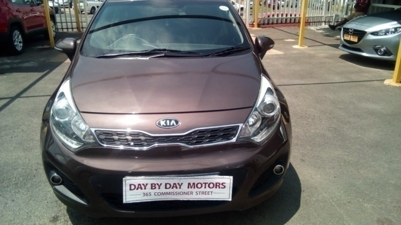 Used Kia Rio 1 4 Tec Auto 5 Door For Sale In Gauteng