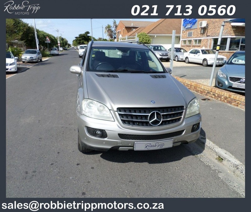 used mercedes benz m class ml 320 cdi a t for sale in western cape id 2538962. Black Bedroom Furniture Sets. Home Design Ideas