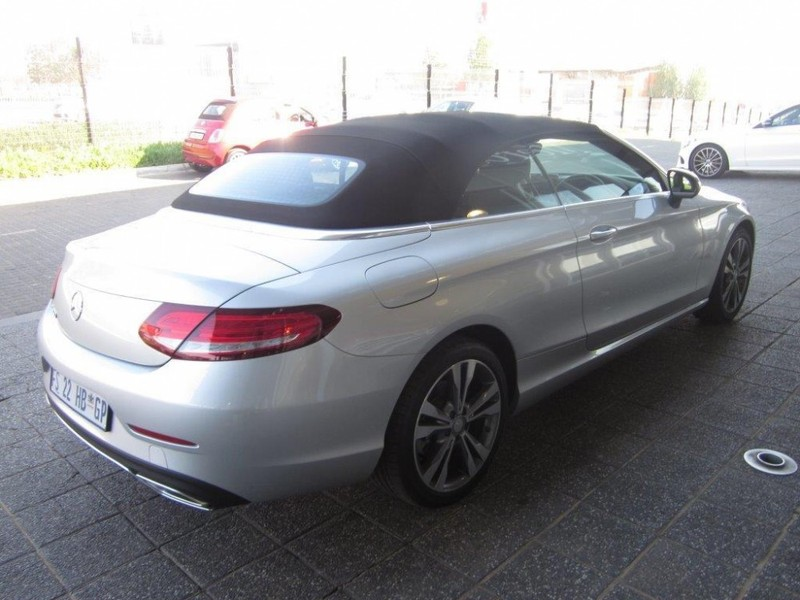 Used mercedes benz c class c200 cabriolet auto for sale in for Mercedes benz c class used cars for sale