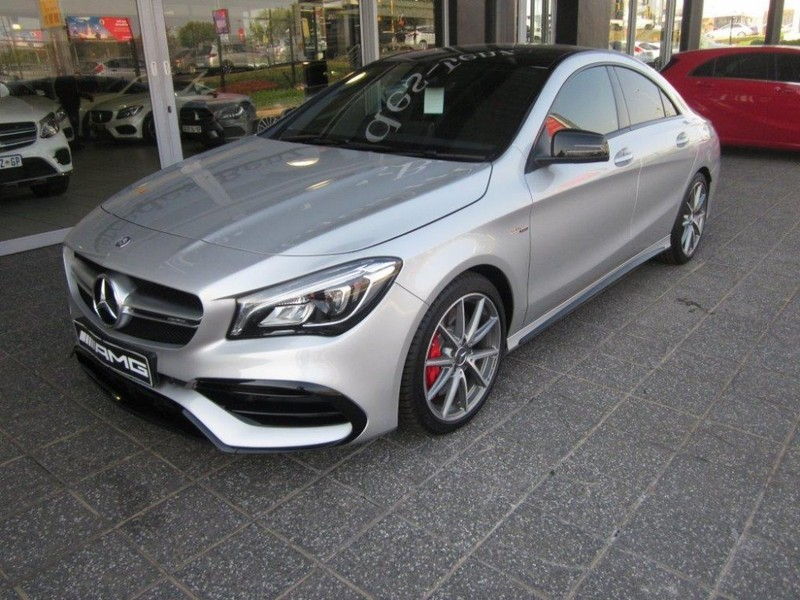 used mercedes benz cla class 45 amg for sale in gauteng id 2544050. Black Bedroom Furniture Sets. Home Design Ideas