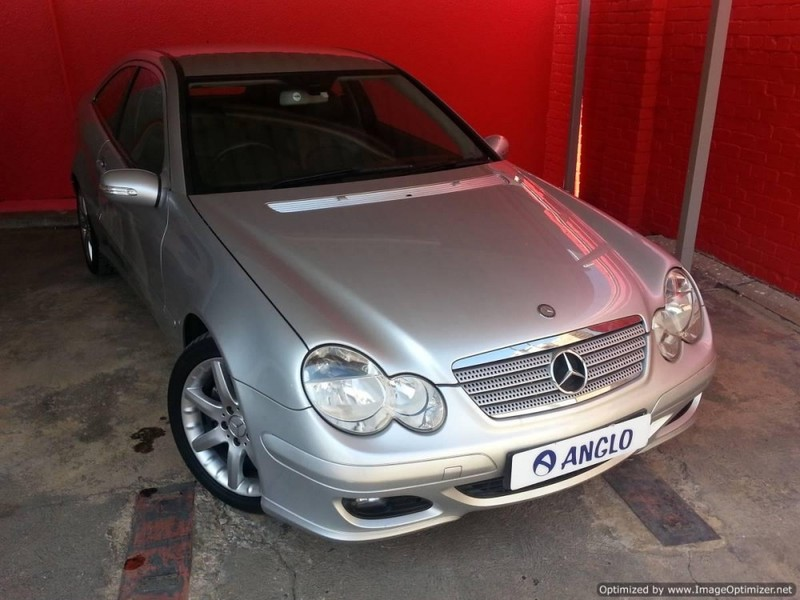 used mercedes benz c class c230 v6 coupe a t for sale in gauteng id 2562536. Black Bedroom Furniture Sets. Home Design Ideas