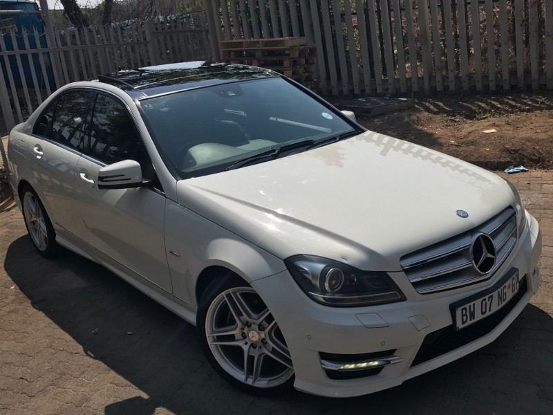 used mercedes benz c class c200 amg line auto for sale in gauteng id 2562680. Black Bedroom Furniture Sets. Home Design Ideas