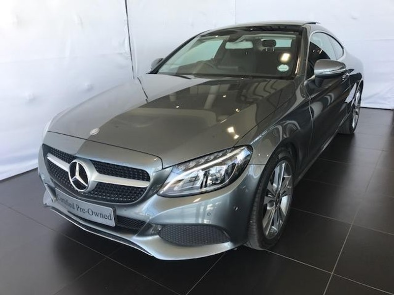 Used Mercedes Benz C Class C200 Coupe Auto For Sale In