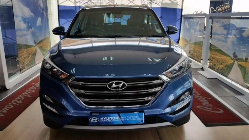 Used hyundai tucson 1 6 tgdi executive for sale in gauteng for Motor vehicle department tucson