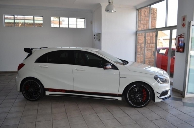 Used mercedes benz a class a45 amg 4matic for sale in for Mercedes benz seat belt purse