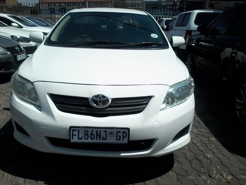 used toyota corolla 1 3 professional for sale in gauteng id 2636222. Black Bedroom Furniture Sets. Home Design Ideas