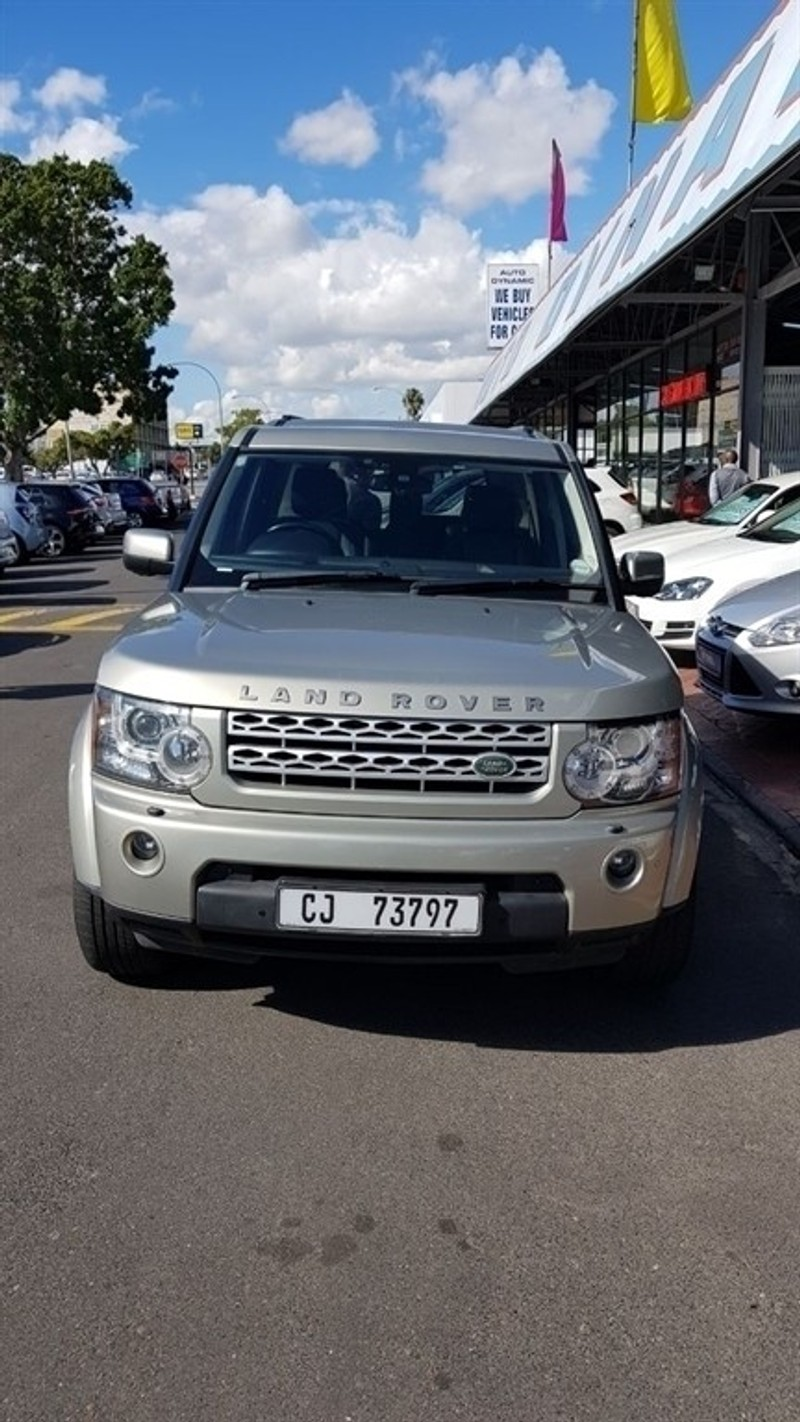 Used Land Rover Discovery 4 5 0 V8 Hse For Sale In Western