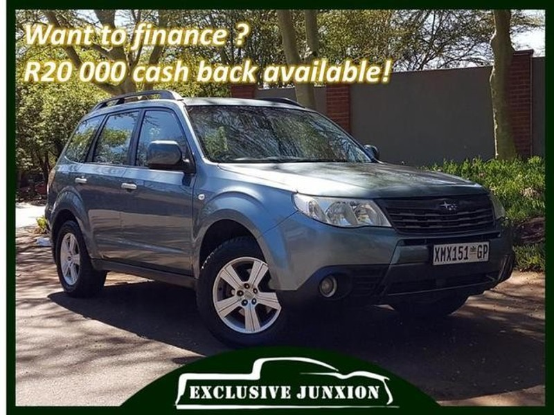 Used Subaru Forester 2 5 Xs A T For Sale In Gauteng Cars