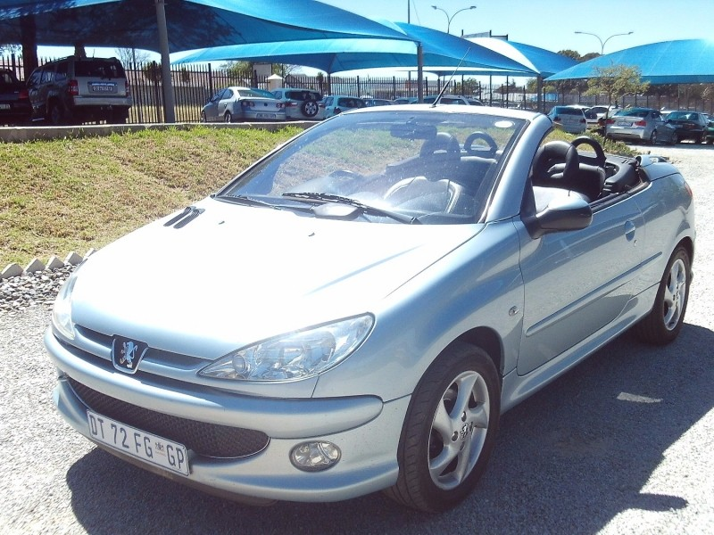 Used peugeot 206 1 6 coupe cabriolet for sale in gauteng id 2654126 - Peugeot 206 coupe cabriolet review ...
