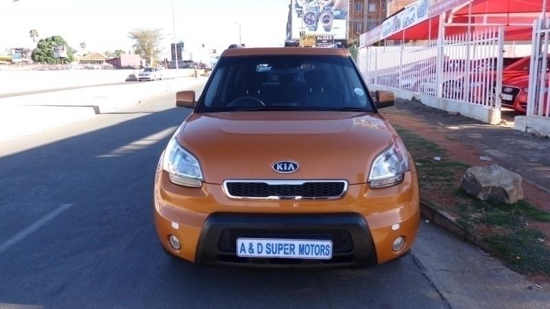 Used Kia Soul 1 6 For Sale In Gauteng Id