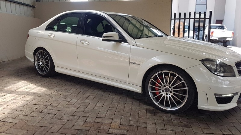 used mercedes benz c class c63 amg for sale in mpumalanga id 2664348. Black Bedroom Furniture Sets. Home Design Ideas