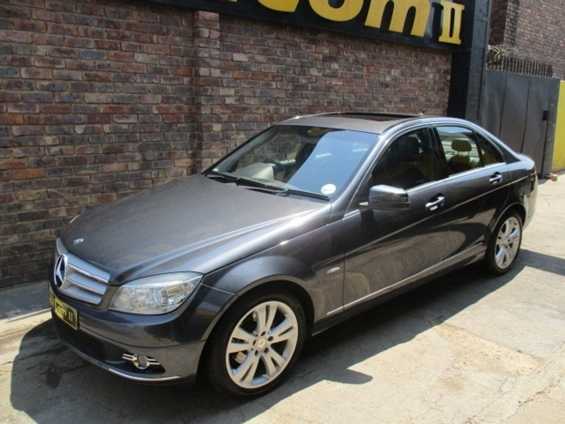 used mercedes benz c class c220 cdi be avantgarde a t for. Black Bedroom Furniture Sets. Home Design Ideas