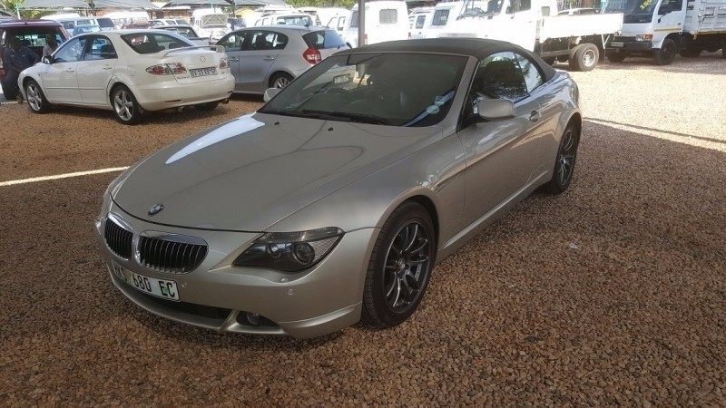 used bmw 6 series 645ci convertible e64 for sale in gauteng id 2681770. Black Bedroom Furniture Sets. Home Design Ideas