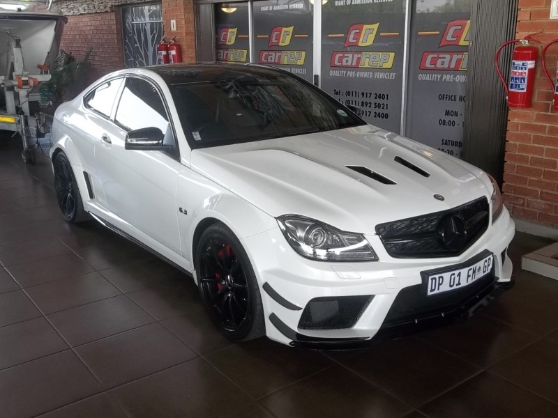 used mercedes benz c class c63 amg coupe black series for sale in gauteng id 2683462. Black Bedroom Furniture Sets. Home Design Ideas