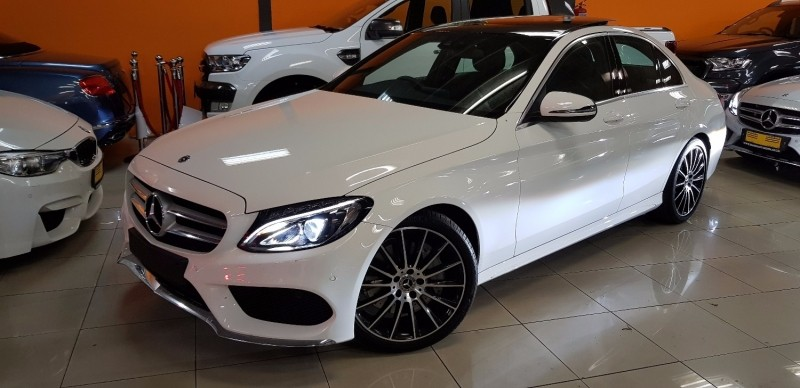 Used mercedes benz c class c250 amg line auto for sale in for Mercedes benz c250 2017