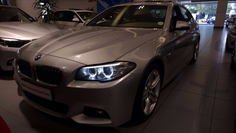 used bmw 5 series 520d m sport for sale in western cape id 2688318. Black Bedroom Furniture Sets. Home Design Ideas