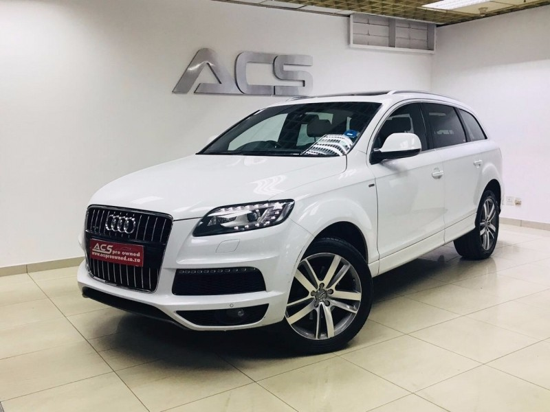 used audi q7 3 0 tdi quattro auto s line 7 seater extended. Black Bedroom Furniture Sets. Home Design Ideas