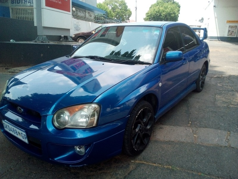 used subaru impreza 2 5 rs awd for sale in gauteng id 2699950. Black Bedroom Furniture Sets. Home Design Ideas