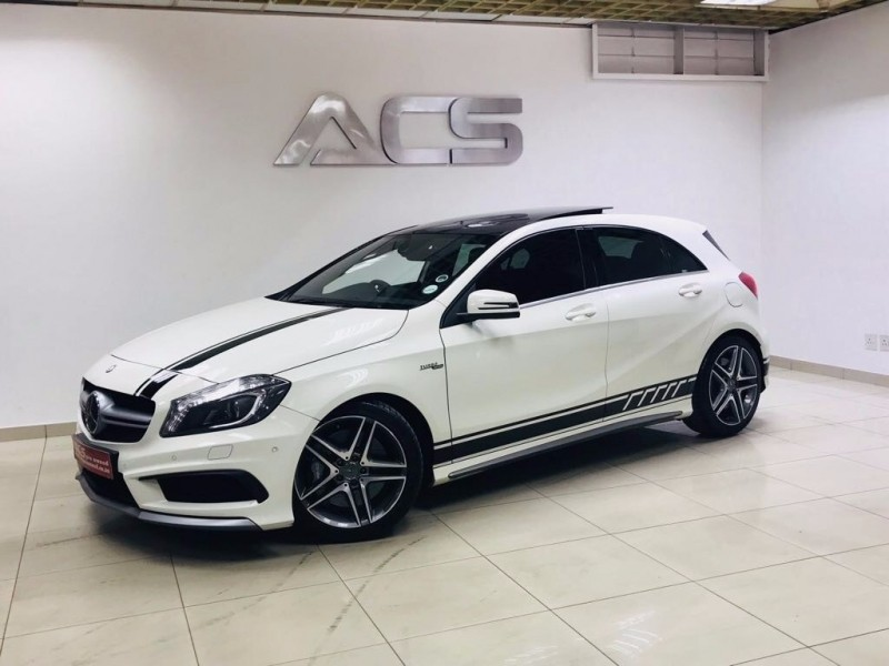 Used mercedes benz a class a45 amg 4matic performance pack for Custom mercedes benz for sale