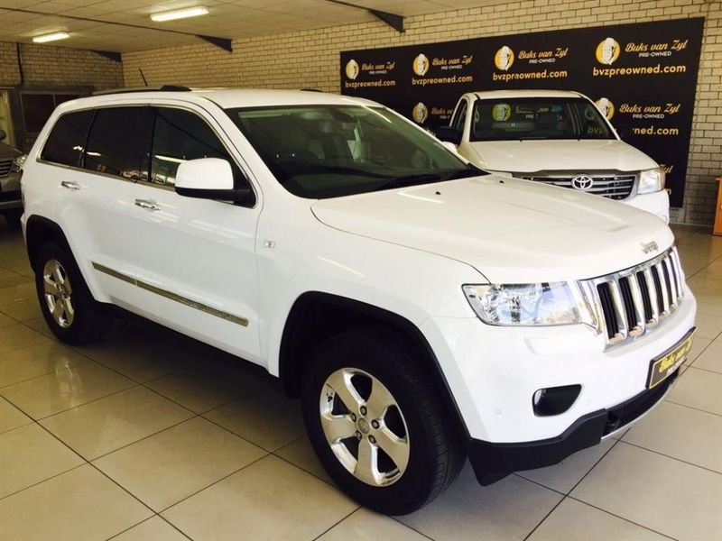 Used Jeep Grand Cherokee 3ol V6 Crd Ltd For Sale In Western Cape