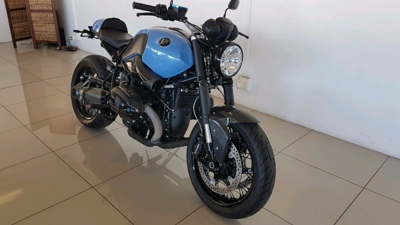 used bmw r nine t cafe racer as new only 100kms for sale in western cape id. Black Bedroom Furniture Sets. Home Design Ideas
