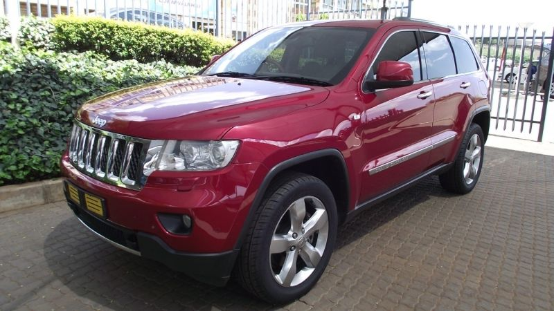 used jeep grand cherokee 3 6 overland for sale in gauteng id 2730516. Black Bedroom Furniture Sets. Home Design Ideas