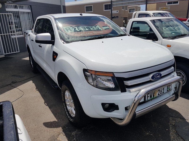 used ford ranger 2012 ford rang 2 2tdci xls d c4x4 corne. Black Bedroom Furniture Sets. Home Design Ideas