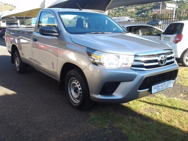 Used Toyota Hilux 2 4 Gd A C Single Cab For Sale In